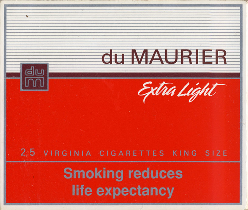 Import of cigarettes Dunhill to New Zealand