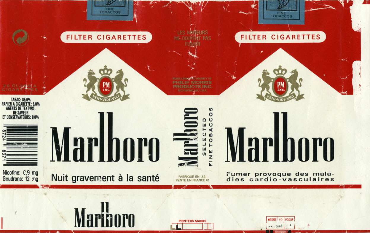 European cigarettes Marlboro Massachusetts
