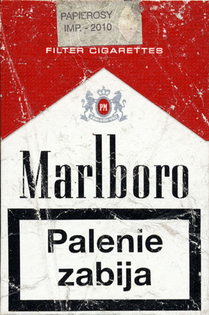 Price of cigarettes Marlboro brands in Sweden