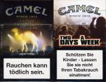 Camel - SE Limited Edition - WFestival Tickets - Two Days A Week Since 1913 Filters (German warning, EU1)