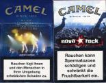 Camel - SE Limited Edition - WFestival Tickets - Nova Rock Since 1913 Blue (German warning, EU2)