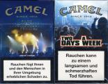 Camel - SE Limited Edition - WFestival Tickets - Two Days A Week Since 1913 Blue (German warning, EU2)