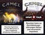Camel - SE Limited Edition - WFestival Tickets - Nova Rock Since 1913 Filters (German warning, EU2)