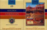 Golden American - SE Advertising - 25 American Cigarette Company (French warning)