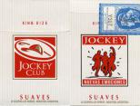 Jockey Club - SE Nuevas Emociones - King Size Suaves 20 Cigarrillos Rubios - Industria Argentina