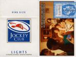 Jockey Club - SE Se viene un nuevo… Lights 20 - 6 - King Size Lights 20 Cigarrillos Rubios - Industria Argentina