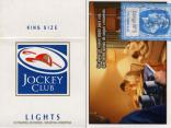 Jockey Club - SE Se viene un nuevo… Lights 20 - 3 - King Size Lights 20 Cigarrillos Rubios - Industria Argentina
