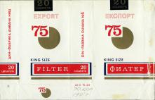 75 Export King Size Filter