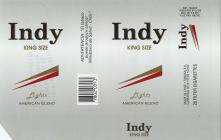 Indy King Size Lights American Blend